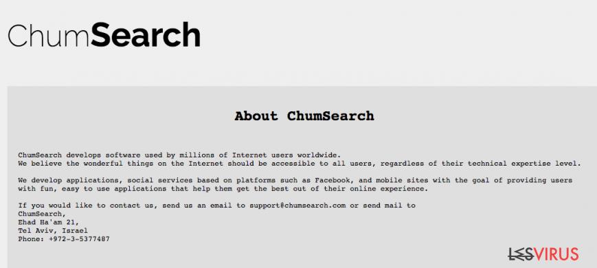 instantanea di Chumsearch.com
