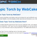 instantanea di Topic Torch