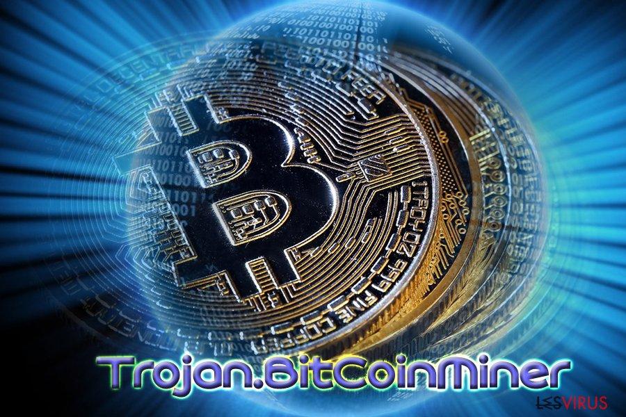instantanea di il virus Bitcoin