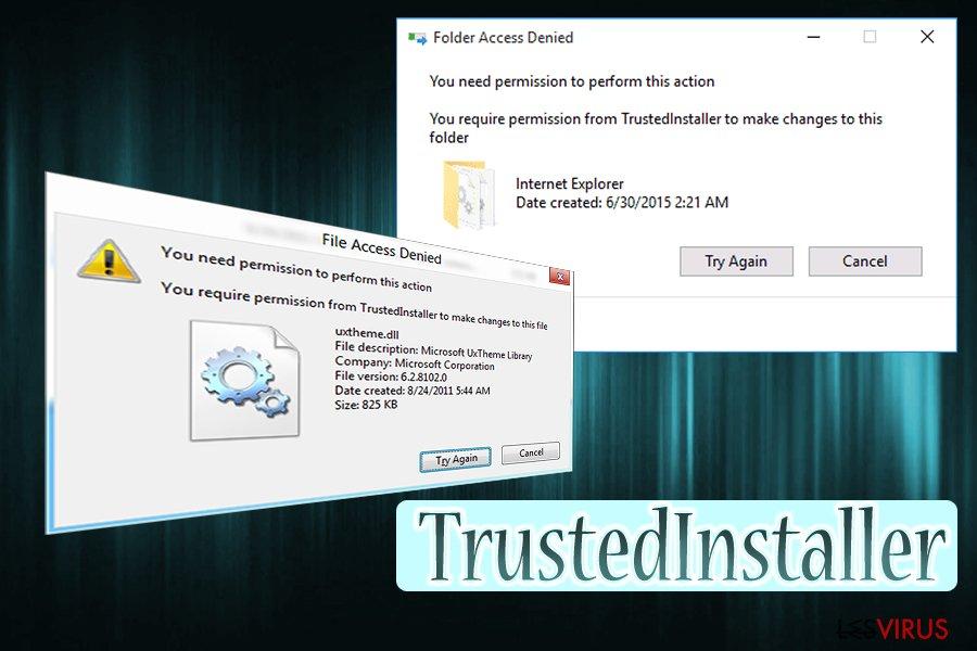 Il virus TrustedInstaller
