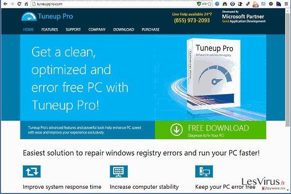 instantanea di TuneUp Pro
