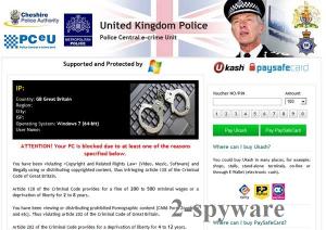 UK Police virus