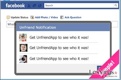 instantanea di UnfriendTool