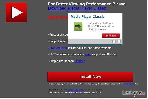 instantanea di le pubblicità di Updates.com