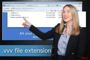 Il virus che cripta i file con estensione .vvv