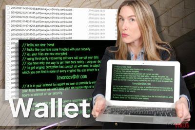 Immagine ransomware Wallet