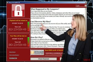 Il virus ransomware Wana Decrypt0r