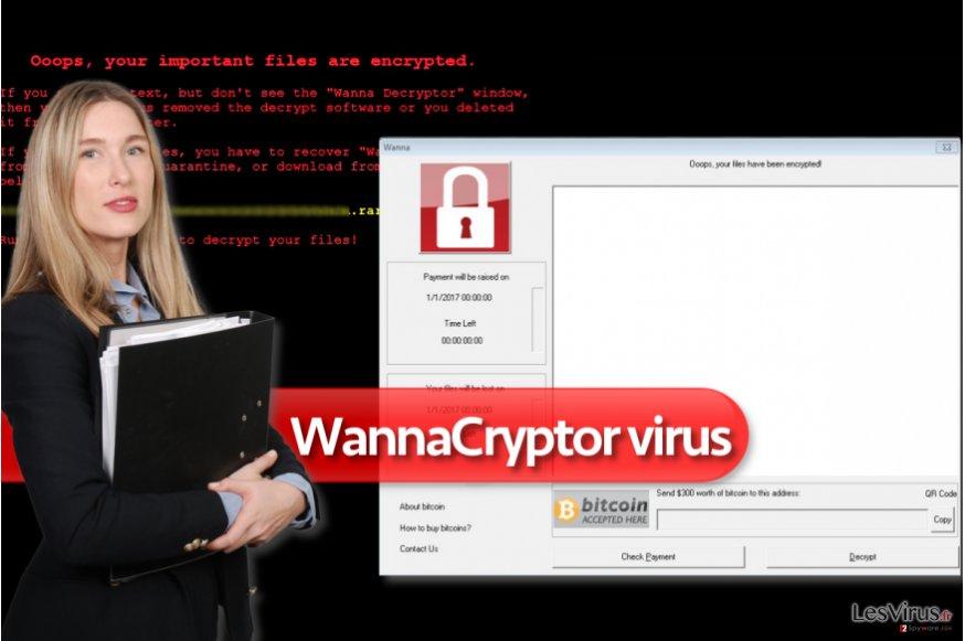 Il virus ransomware WannaCryptor