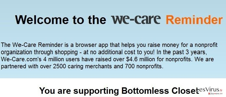 instantanea di We-care Reminder