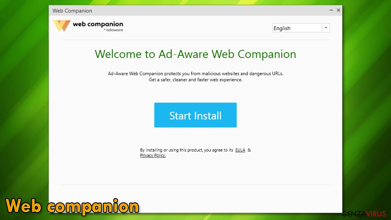Installazione di Web Companion