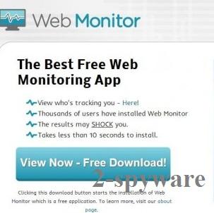 instantanea di Web Monitor