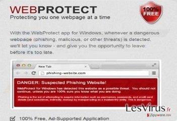 instantanea di Virus Web Protect