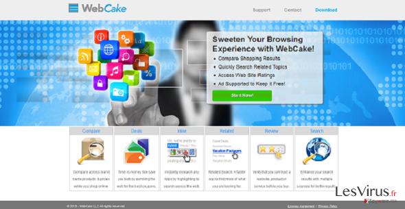 instantanea di WebCake