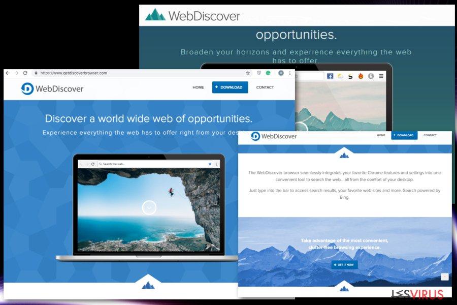 instantanea di WebDiscover