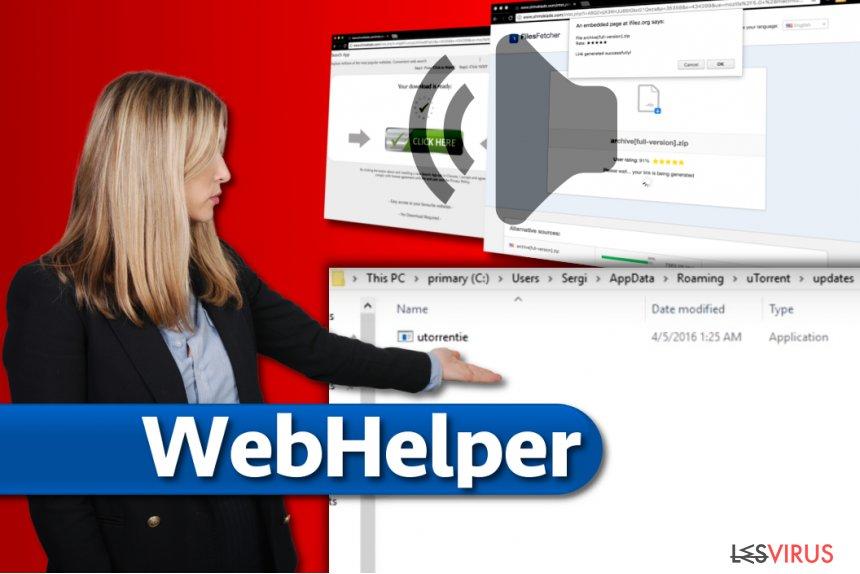 Il virus WebHelper