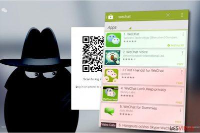 Il virus di WeChat