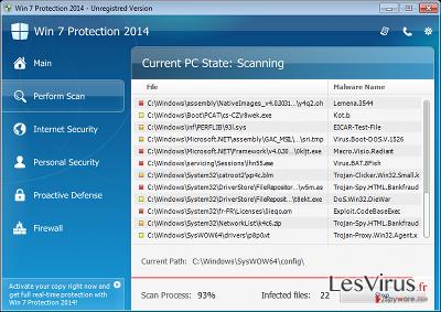 instantanea di Win 7 Protection 2014