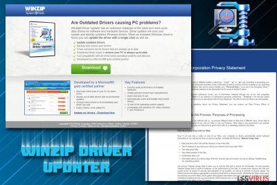 Il PUP WinZip Driver Updater
