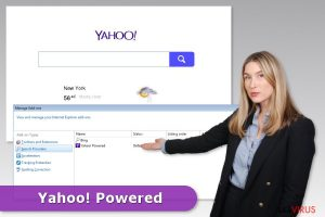Yahoo Powered