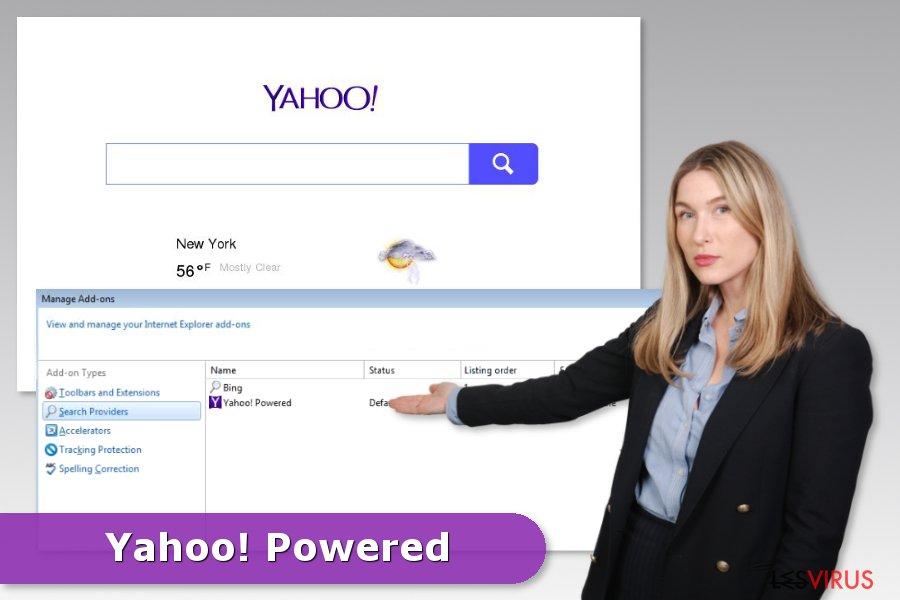 l'hijack Yahoo Powered