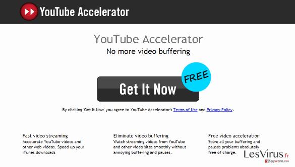 instantanea di Youtube Accelerator