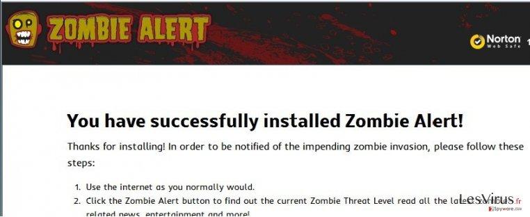 instantanea di Il virus Zombie Alert